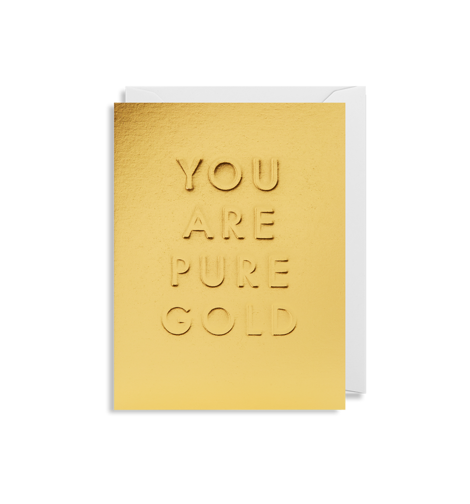 Card | Small | You Are Pure Gold