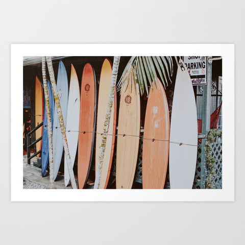 Framed Art | Lets Surf 11