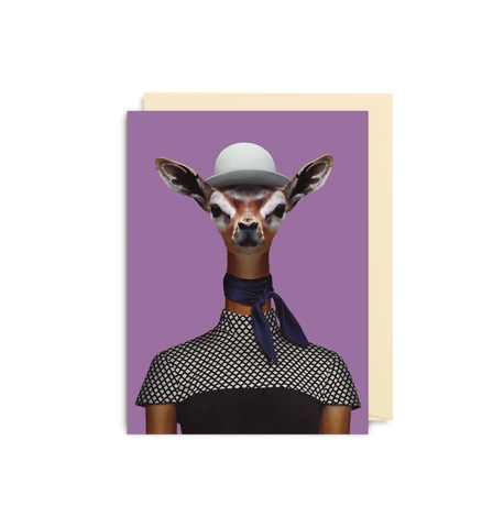 Card | Small | Gerenuk