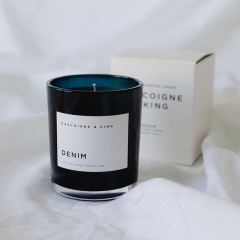 Gascoigne + King | Fragranced Candle | Denim