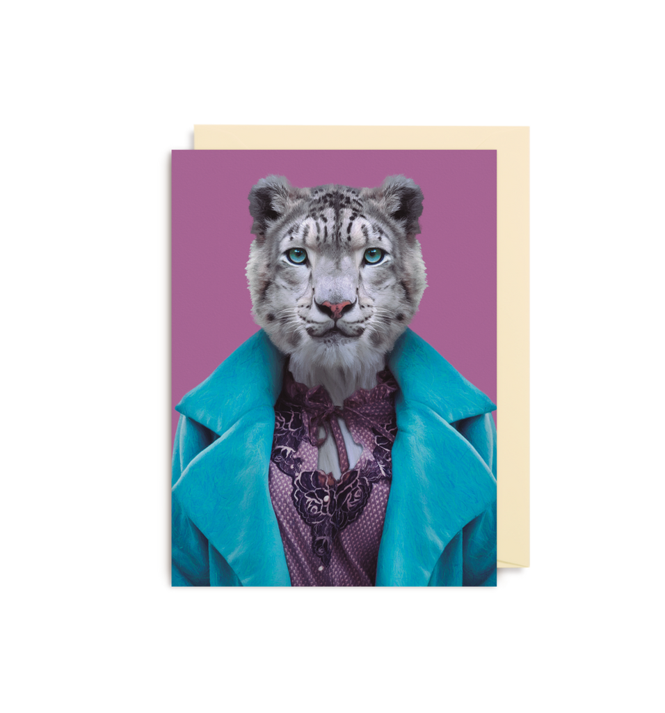 Card | Small | Snow Leopard