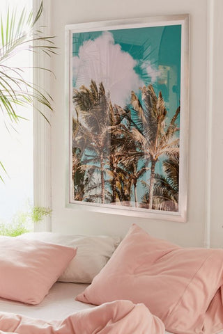 Framed Art | Palm Trees & Island Breeze