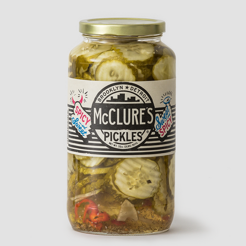 McClures | Swrrt + Spicy Crinkle Cut Pickles