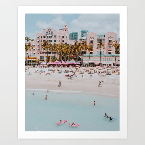 Framed Art | Summer Beach XXIV