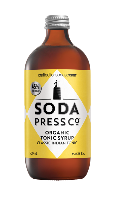 Soda Press Co. | Soda Syrups | Organic Classic Indian Tonic