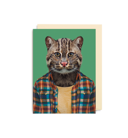 Card | Small | Fishing Cat