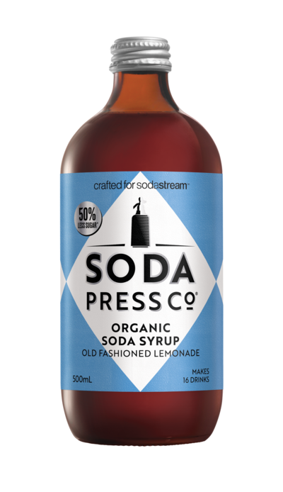 Soda Press Co. | Soda Syrups | Organic Old Fashioned Lemonade