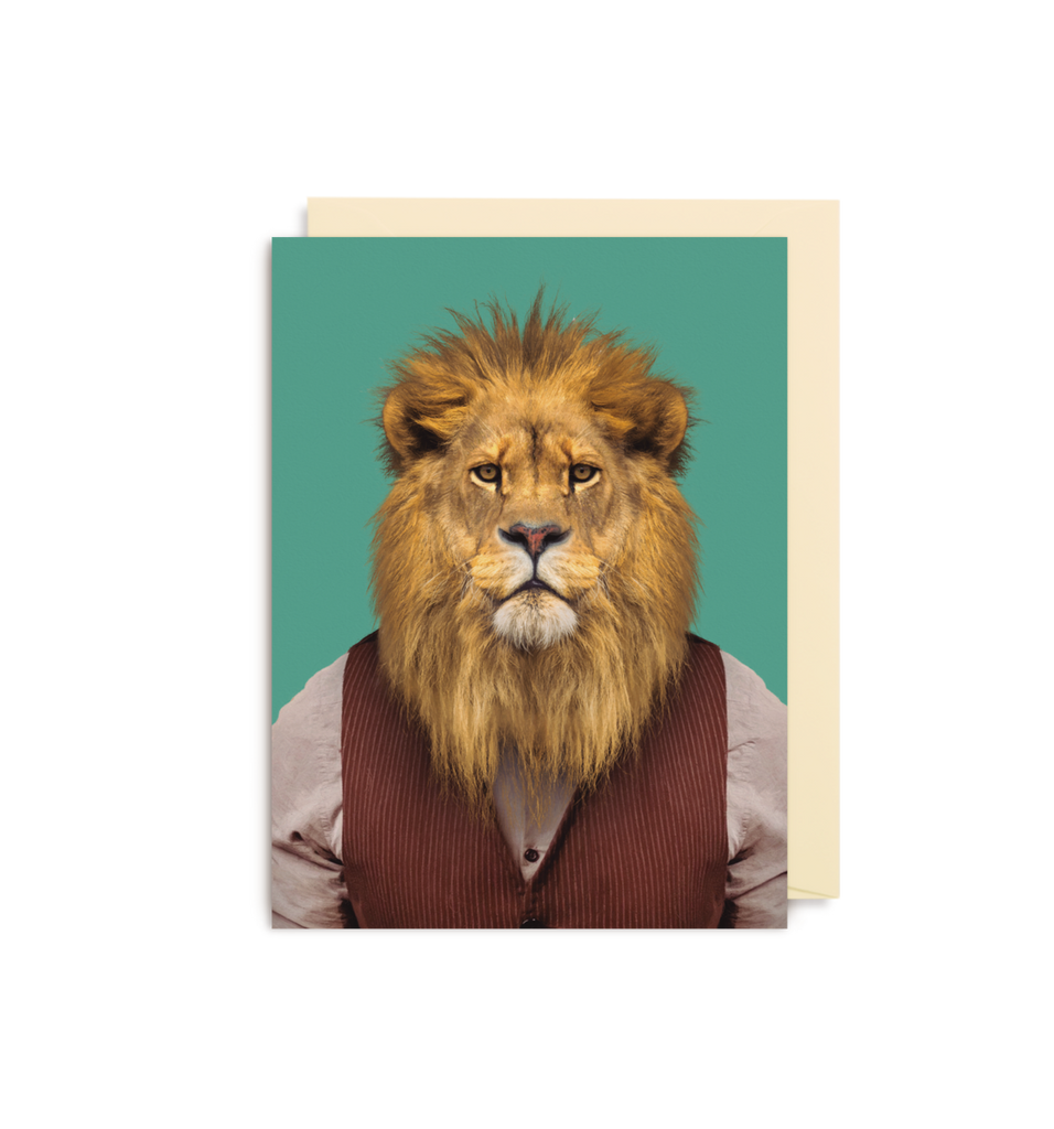 Card | Small | Lion