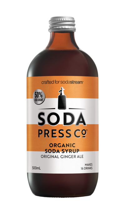Soda Press Co. | Soda Syrups | Organic Ginger Ale
