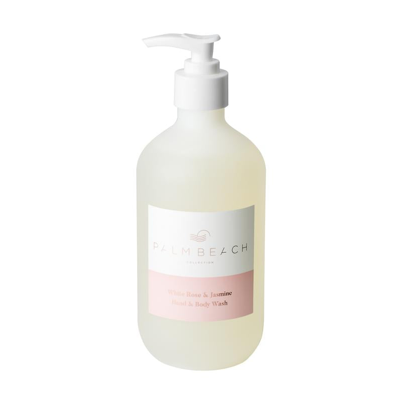 Palm Beach | Hand + Body Wash 500ml | White Rose + Jasmine