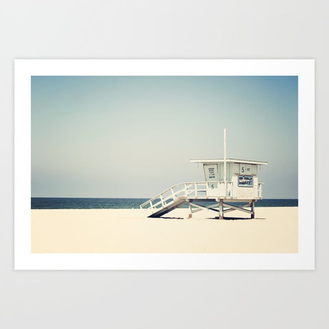 Framed Art | Hermosa Beach