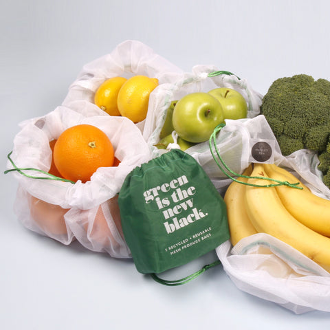 Project Ten | Recycled Mesh Produce Bags | Set of Five ETA 30 NOV