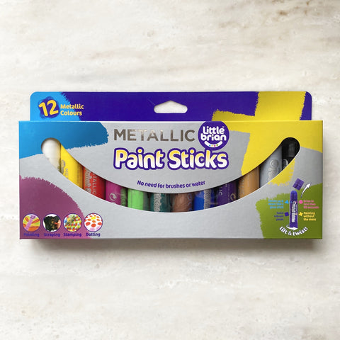 Paint Sticks | Metallic | Twelve Pack