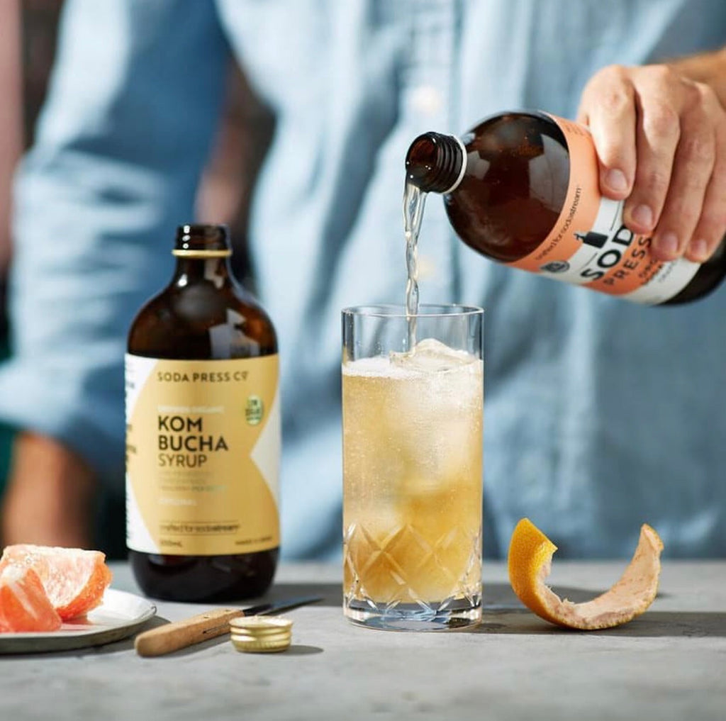 Soda Press Co. | Kombucha Soda Syrup Concentrate | Organic Original