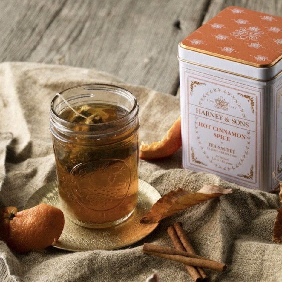 Harney Teas | Tin | Classic Hot Cinnamon Spice