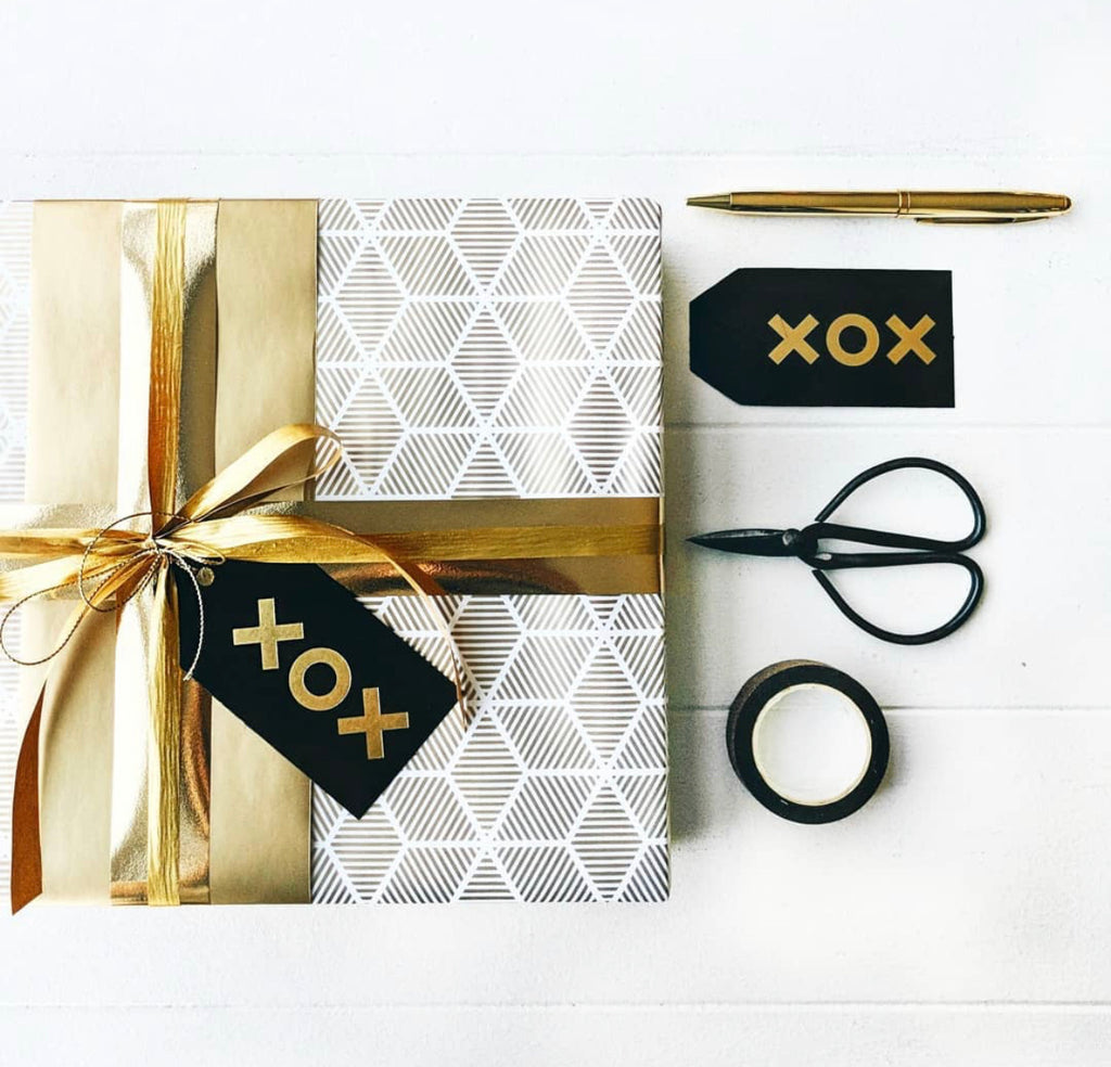 Inky Co 10m Wrap | Gold Stars