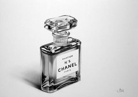 Framed Art | Perfume Bottle