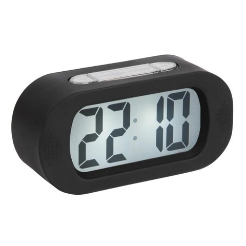 Karlsson Alarm Clock | Gummy | Black