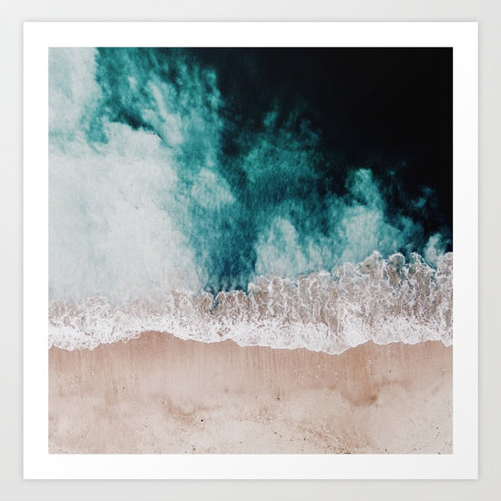 Framed Art | Ocean Drone