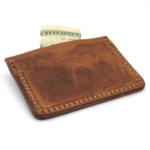 Lenny™ Leather Card Wallet