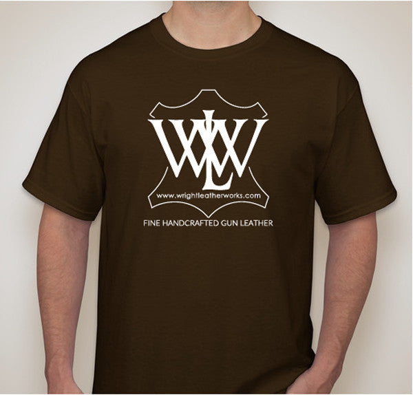 """WLW"" T-shirt Brown"