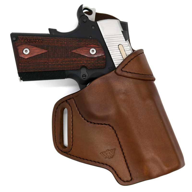 Concealed Carry OWB Leather Gun Holsters | Wright Leather