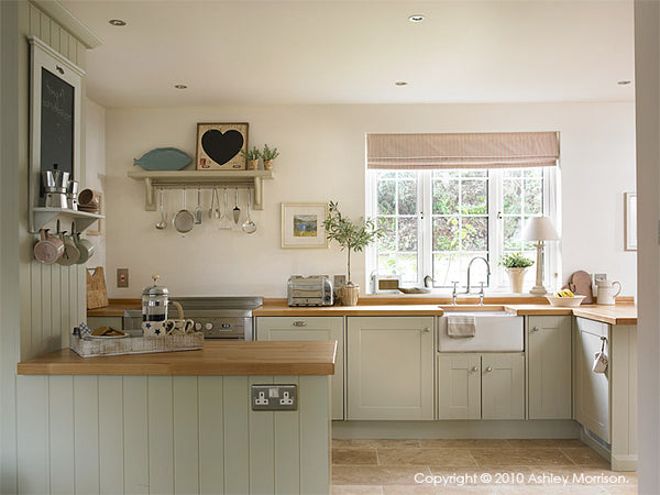 Modern Country Style Farrow And Ball Shaded White Colour Case Study