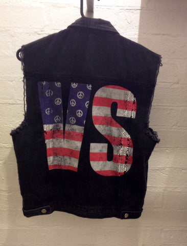People Vs Rebel Denim Vest