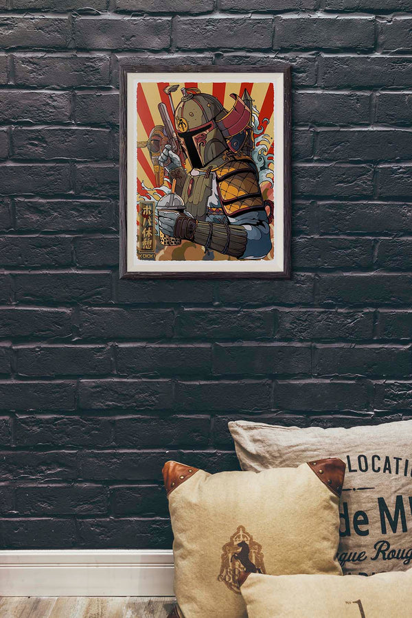 Boba Break - Print