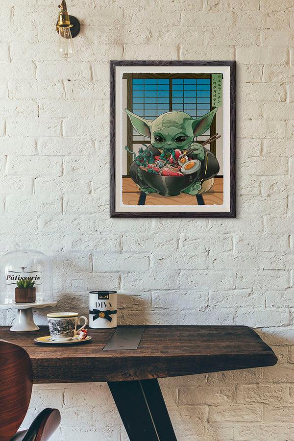 Frog Ramen, This is The Way. - Print