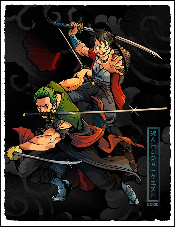 Ronin Treasure Quest - Print