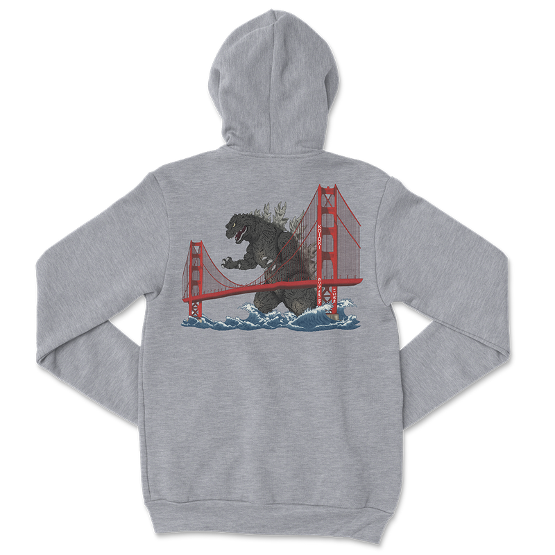 Golden Gate - Pullover Hoodie