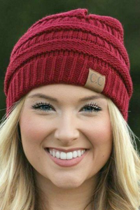 C.C Beanie (Multiple Colors)