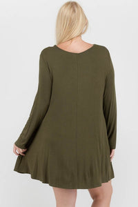 Start Of It Dress (Olive)