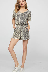 Follow the Night Romper