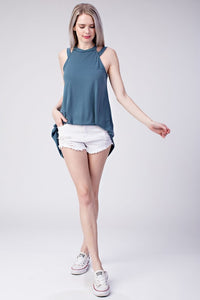 Heart and Soul Tank (Antique Blue)