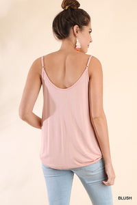 Slip Into This Tank (Blush)