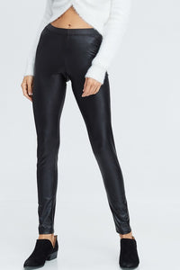 Livin' on the Edge Faux Leather Leggings