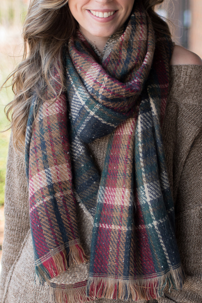 Northern Winds Blanket Scarf