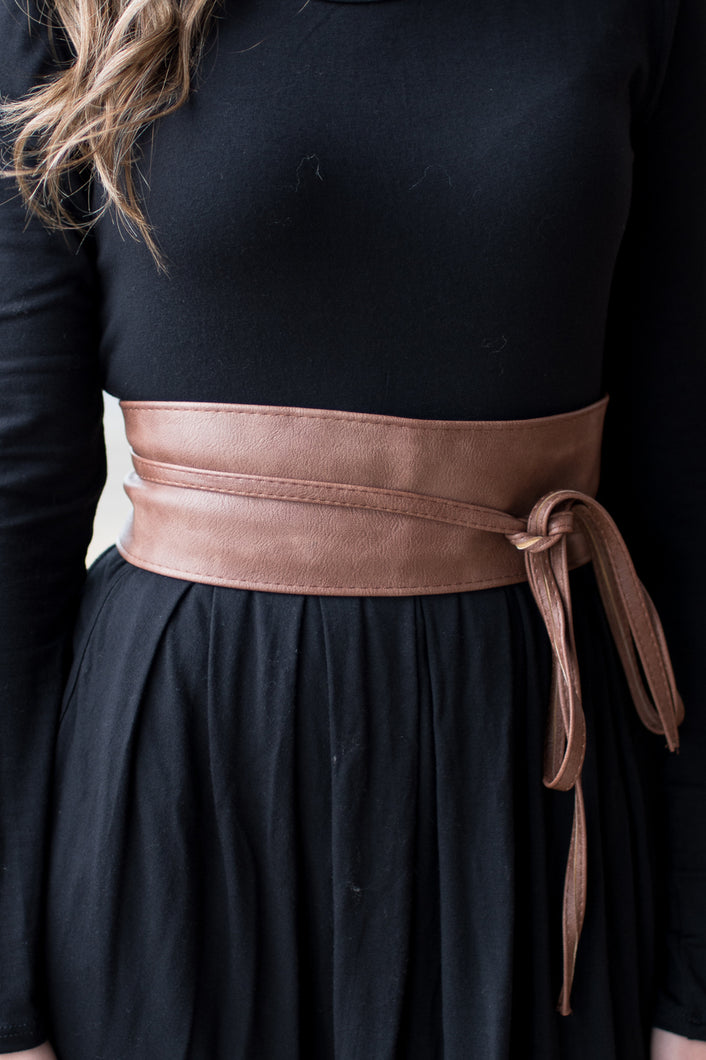 Top It Off Belt (Camel)