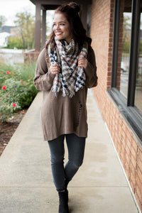 Step Out Sweater (Mocha)
