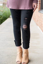 Load image into Gallery viewer, Ripped Up Jeans (Black)