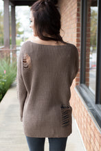 Load image into Gallery viewer, Step Out Sweater (Mocha)