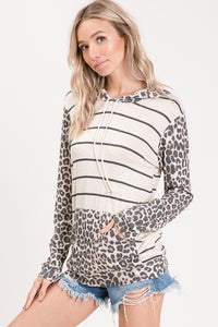 Where the Wild Things Go Hooded Top