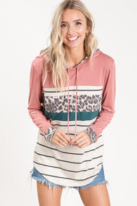 Living For Fun Hooded Top