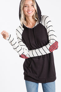 Mistletoe Magic Hooded Top