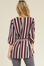 Load image into Gallery viewer, Get the Skinny Top (Burgundy)