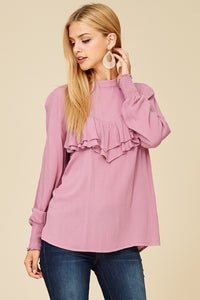 Mauve in Love Blouse