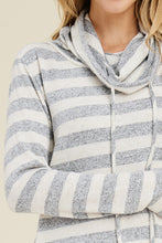 Load image into Gallery viewer, On the Sidelines Cowl Neck Top