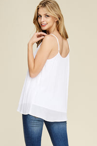 Such a Sweetheart Tank (White)